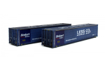 Dapol 2F-028-006 45ft Curtainside Container Twin Pack Less CO2 450002/4 Wd (1)